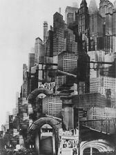 "Metropolis Cityscape Photo Print 13x19"""