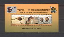 Australia 1996 Canguri/ESPOSIZIONE 3 V M/S (n19076)