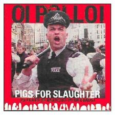 Oi Polloi Pigs For Slaughter-20 Years Of Anarcho-Punk Chaos CD NEW SEALED