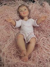 "Pellegrini Baby Jesus Nativity Figurine Presepio Pesebre Manger Scene ""AS IS"""