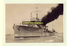 rp7887 - Royal Navy Warship - HMS Nimrod H43 - photo 6x4