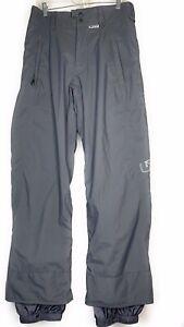 Burton Snowboard Ski Pants Gray Small  RN 87380 CA 26902