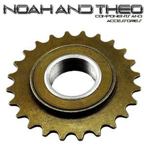 "N&T 24T 34mm 1/2"" x 1/8"" Brown BMX Freewheel Bicycle Single Speed Cog Sprocket"