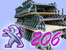 Ponte assale posteriore peugeot 206, freni a tamburo, ABS