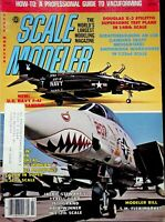 Vtg Scale Modeler Magazine March 1982 Douglas X-3 Stiletto Supersonic Plane m105