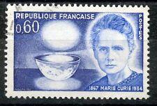 STAMP / TIMBRE FRANCE OBLITERE N° 1533 MARIE SKLODOWSKA CURIE