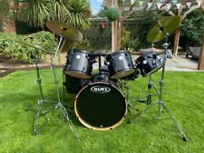 More details for mapex horizon drum kit with cymbals and hardware