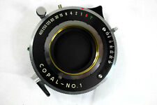 COPAL shutter #1 for Large Format lens. + retaining ring. Very rare! Excellent!