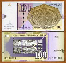 Macedonia, 100 Denari, 2007, Pick 16 (16g), UNC