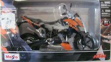 Maisto  1:12   KTM  690 DUKE motorcycle model NOS  orange/black