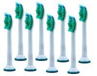 8 New Sonicare Toothbrush Heads Fits For Philips Sonic HX6013 HX6730 HX6530 UK