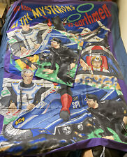 Vintage 1993 Captain Scarlet Mysterons Resized Double Bed Duvet Cover & Pillows