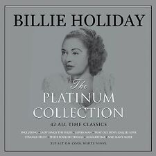Billie Holiday PLATINUM COLLECTION Best Of 42 Songs NEW WHITE COLORED VINYL 3 LP