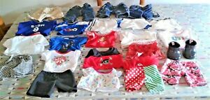 23 X Build A Bear Clothing Items Bundle including Wellington Boots ALL SHOWN