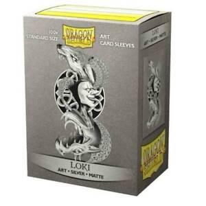 Dragon Shield: Limited Edition Art Sleeves Silver Matte - Loki (100ct)
