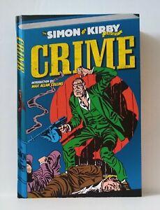 Simon & KIrby Crime! hc hardcover NM 9.2+