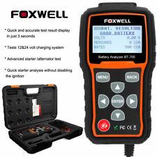 100-2000CCA Battery Tester 12V 24V Car Cranking and Charging System Diagnostic