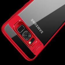 Motorola Moto G5S Plus Hülle Case Handy Cover Schutz Etui Schutzhülle Bumper Rot