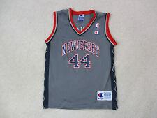 VINTAGE Champion Keith Van Horn New Jersey Nets Basketball Jersey Youth Medium *
