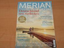 """MERIAN EXTRA """"Deutschland neu entdecken"""" Ausgabe 01/2018"""
