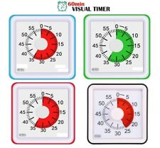 More details for visual analog 60 min kitchen timer countdown clock time management tool