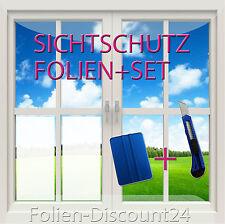 14,83€/m²) Sichtschutzfolie Fensterfolie 2 Meter x 30 cm + 1x Messer 1xRakel