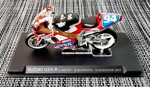 Ixo Altaya, SUZUKI GSX-R Guyot Scarnato Dussauge 2001, Motorrad Motorbike, 1:24