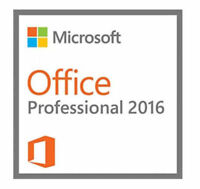 Microsoft Office Professional 2016 DVD Brand New Genuine - 1 PC Install