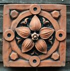 Victorian decorative brick copy antiqued terracotta wall tile