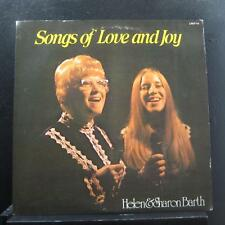Helen & Sharon Barth - Songs Of Love And Joy LP VG+ LPST-74 Private IL Christian