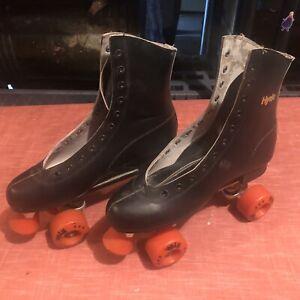 Vintage Chicago Roller Skate RM-96  BF-1 Sz10 Hyde Athletic Black Roller Skates