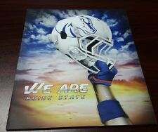 NEW! WE ARE BOISE STATE White Broncos Football Helmet BSU 8x10 Art on Thin Board