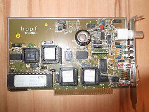 Hopf DCF-77 Funkuhr Typ 6036B 6036 B 8bit ISA