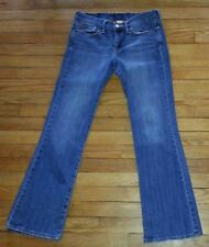 "3075p Sz 4/27 30x30 Blue LUCKY BRAND ""Sassy Sweet N Low"" Distressed Jeans"