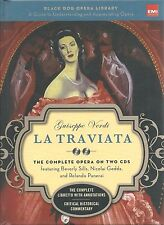LA TRAVIATA Guiseppe Verdi OPERA Book & CDs Translation MUSIC History ITALIAN