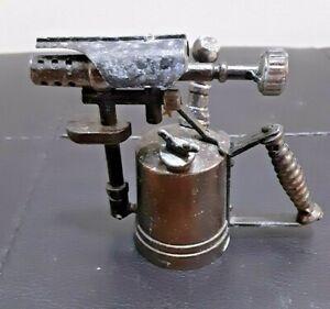 Vintage Die Cast Miniature Pencil Sharpener BLOW TORCH