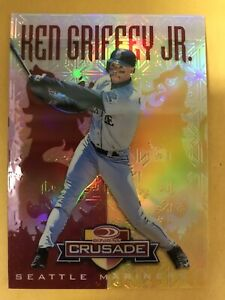 1997 1998 Ken Griffey Jr. DONRUSS CRUSADE RED #39 MINT  05/25.