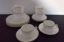 Tasse Teller Kaffeeervice Bone China Living Dreams weiß Goldrand für 5 Personen