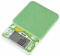 TANITA Japan Digital Cooking Scale Cabbage 0.5 - 2000 g Washable Cover KD-199-GR