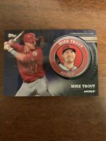 Mike Trout 2020 Topps Series 2 Commemorative MEDALLION COIN BLACK/199 ***READ***