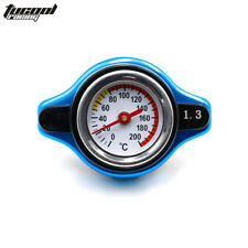For Honda Racing Thermost Radiator Cap COVER + Water Temp Gauge 1.1BAR Cover