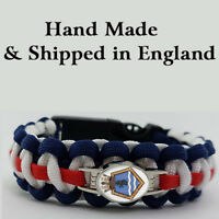HMS Belfast (HMSBF) Badged Survival Bracelet Tactical Edge Wristband Gift