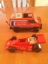 A,J. Foyt Racing Team Van & Indy Car Tonka
