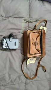 Vintage Yashica-8 8mm Cine Film Movie Camera with Yashinon 13mm Lens and Case
