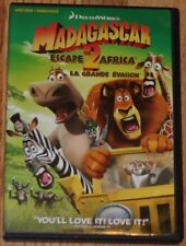 DreamWorks Madagascar Escape 2 Africa DVD. (Widescreen, English, French,Spanish)