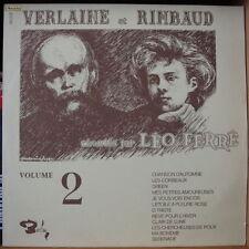LEO FERRE VERLAINE ET RIMBAUD BARCLAY XBLY 80.237 BIEM ORIG FRENCH LP