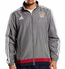 adidas Herren Original Fc Bayern München Sportjacke/grau/Neu/Gr.L