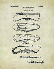 Ballet Dance Patent Poster Art Print Shoes Flats Tutu Leotard Skirt PAT05