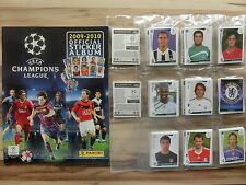 PANINI CHAMPIONS LEAGUE 2009/2010 *KOMPLETTSET COMPLETE SET*EMPTY ALBUM