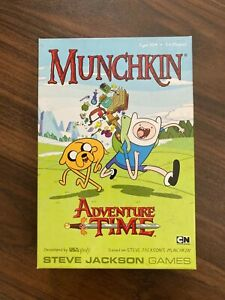 Munchkin Adventure Time Game - **RARE** **DISCONTINUED**